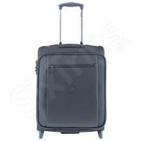 Син текстилен куфар за ръчен багаж 50см