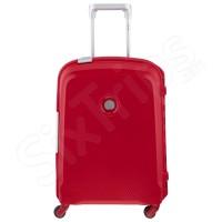 Елегантен червен куфар за ръчен багаж