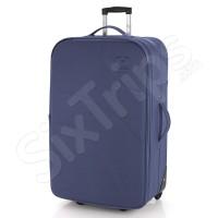 Син текстилен куфар Gabol WiFi 75см.