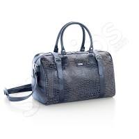 Кожена чанта Cobalt 47см., синя