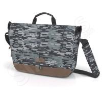 Сива чанта за лаптоп Camo