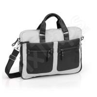 """Стилна сива бизнес чанта за лаптоп 15.6"""" Combo"""