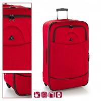 Текстилен куфар Gabol Pick 65см, червен