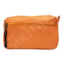 Несесер в свежо оранжево 21см за път