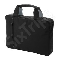 Чанта за документи Detroit, черно и сиво