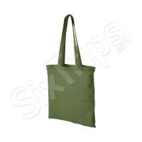 Памучна чанта за пазар Carolina, зелена