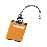 Оранжев етикет за багаж Taggy