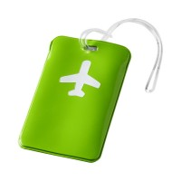 Етикет за багаж Voyage зелен