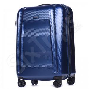 Голям син куфар от поликарбонат Puccini New York