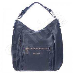 Дамска чанта с множество джобове Puccini, черна