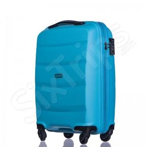 Малко куфарче за ръчен багаж в светлосин цвят Puccini Acapulco