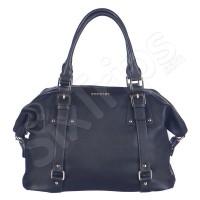 Черна модерна дамска чанта Puccini