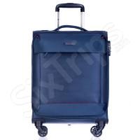 Малък изискан син куфар за ръчен багаж Puccini Amsterdam 55см