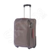 Малък куфар в стилен сив цвят Puccini Camerino, 52см