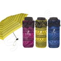Дамски сгъваем чадър - жълт, циклама, син