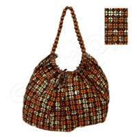 Дамска чанта подходяща за лятото в оранжево