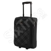 Черен куфар за ръчен багаж Travelite 52см.