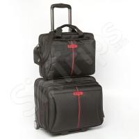 """Малък авационен куфар с чанта за лаптоп Verbatim Frankfurt 15.6"""""""