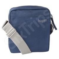 Синя Чанта от висококачествен полестер Bugatti