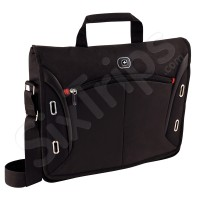 "Стилна черна чанта за лаптоп Wenger Developer 15"""