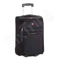 Мек черен куфар Wenger 46л, 55см