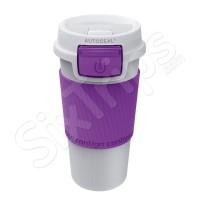 Лилава термо чаша Morgan със стилен дизайн